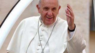 【衝撃映像】ローマ教皇がブチギレた瞬間wwwwwwww