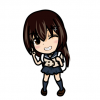 【元気出たわ】女子高生さん、オッパイで制服がはち切れそう →GIfと動画