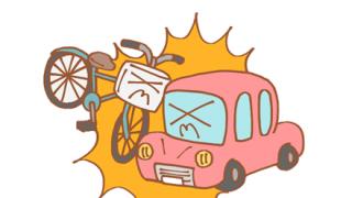 【衝撃】中国で『日本車』と『チャリ』が正面衝突した結果 →画像
