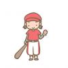 【動画像】12歳の野球少女が可愛すぎるwwwwwwww