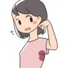 【画像】脇 汗 女 が エ ロ す ぎ るwwwwww