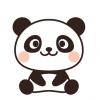 【画像】小パンダのお尻が可愛いw