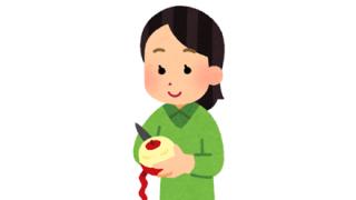 【画像】斬新なリンゴの剥き方wwwwwwww
