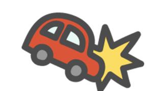 ◆事故動画◆父親の目の前で幼女がトラックと正面衝突