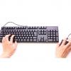 【発明】マウスにキーボードとモニター付けてみた結果 →動画像