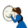 ◆痛恨ミス◆美人アイコンさん、うっかり鏡に映り込んでしまう →画像