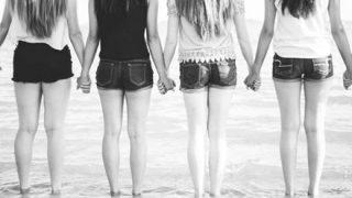 ◆比較◆身長が違う体重70㎏の女性6人が並んだ結果 →画像