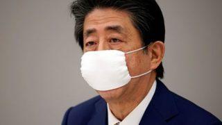 ◆カビノマスク◆妊婦向け布マスク、配布中止を決定