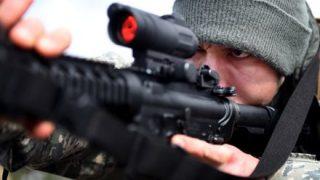 ◆注意◆冷蔵庫を銃で撃つとこうなる →動画