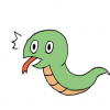 ◆画像◆ムチムチすぎる蛇さん、ホールケーキみたいになる