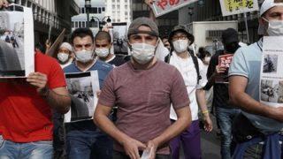 ◆ANTIFA◆「警察は差別を謝れ」渋谷で500人が抗議活動