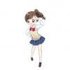 【画像】女子高生さん、陰毛が濃すぎてパンツからハミ出してしまう