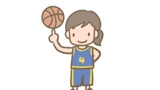 【朗報】白人女子さん、バスケでチート級のスキルを持つ →GIF画像