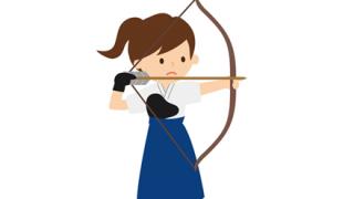 ◆爆乳女性◆が『弓道』をやった結果www