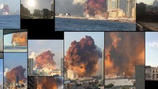 ◆ベイルート爆発◆たった500メートル先から撮影された超衝撃映像が発見されてしまう