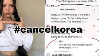 ◆そして嫌韓へ◆フィリピンで韓国への怒りが爆発『#cancelkorea』がトレンド1位に