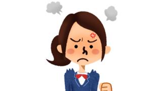 ◆悲報◆このJKちゃん、沸点が低過ぎるwwwwww