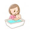 【ほのぼの動画】赤ちゃんの『入浴方法』を教える爺ちゃんと赤ちゃん役の助手