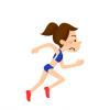 ◆陸上競技◆の動画さん『美少女』をサムネにした結果 →