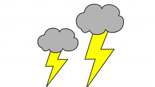 ◆動画◆やっぱり『雷が直撃』したらヤバすぎるwwwwwwwww