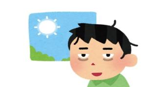 ◆40分の寝不足◆で『脳が負ったダメージ』回復にかかる時間がこちら →