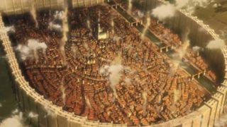 「進撃の巨人みたい」上空から見た阿蘇の街並みが完全にファンタジー