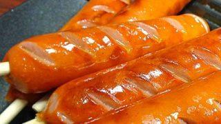 ◆外国人が驚愕◆日本人のフランクフルトの食べ方 →動画