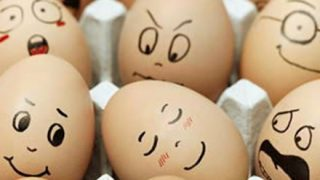 「バカ」と書いた卵と「ありがとう」と書いた卵を放置した結果 →