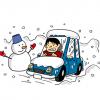 【動画】ロシア人「車が凍った?ふつうハンマーでぶち割るよね」