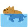 動画「犬は犬かきができるって思ってるでしょ?ワイの愛犬見てみ?」