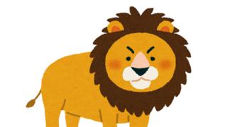 ◆動画像◆ライオンさん、キリンさんに絡んだ結果 →