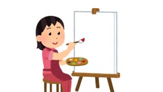 ◆画像◆ま~んさんが描いた『自画像』8万いいねを獲得!!!