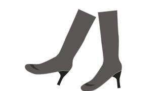 ◆画像◆ヤバいくらい『足が長く見える』効果があるブーツが発売!