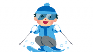 【閲覧注意】スキー中、股が裂けて死亡 →動画
