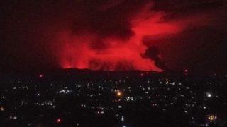【動画像】コンゴ共和国の町に『溶岩が到達』ヤバすぎて草はえない・・・