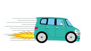【動画】小学生が歩く歩道を爆走する軽自動車が撮影される →