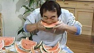 【悲報】志村けん『スイカの早食い』のネタバレwwwwwwwww