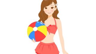 【画像】同じ水着を着た女子を並べると体型の好みが分かる →