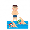 【笑劇動画】水泳コーチさん、金メダルに興奮してセックスしてしまうwww