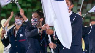 【五輪開会式】NHK「台湾です!」 台湾代表団、た行で入場【金星演出】
