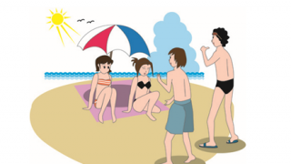 【夏の思い出】この水着ギャルさん「ナンパされた」と言い張る →画像