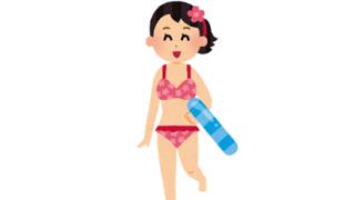 【画像】ムダ毛処理が完璧な水着女子ちゃんwwwwww