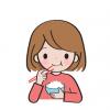 【画像】この体型の女が食う飯の量がこちらwww